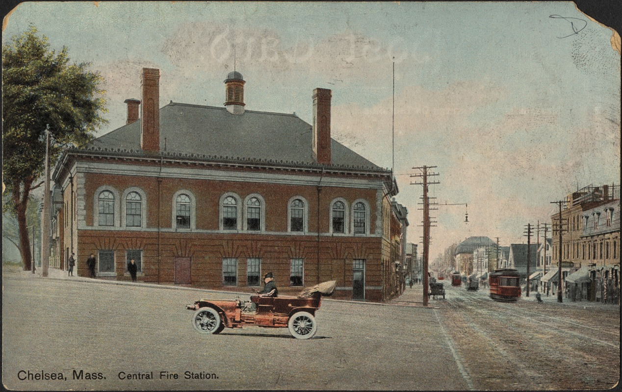 Chelsea Mass. Central fire station