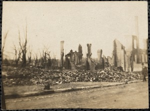 Ruins on Bellingham Hill