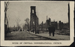 Ruins of Central Congregational Church