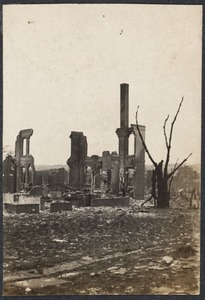 Ruins of the Great Chelsea Fire