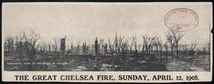 The Great Chelsea Fire, Sunday, April 12, 1908