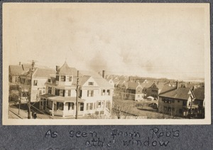 Chelsea fire, as seen from Rob's attic window