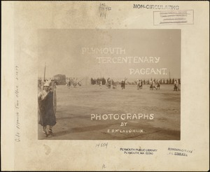 Plymouth Tercentenary Pageant, collection title page, Thorwald leading his Norsemen