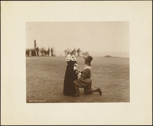 Plymouth Tercentenary Pageant, Pilgrim couple