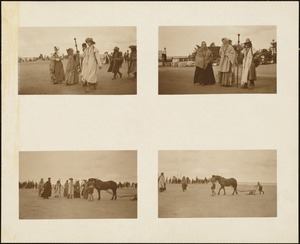 Plymouth Tercentenary Pageant, 4 views of costumed participants