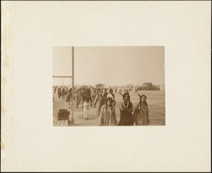 Plymouth Tercentenary Pageant, Indian men and women in procession