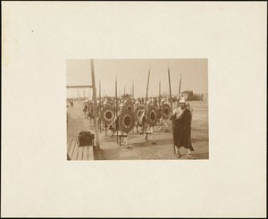 Plymouth Tercentenary Pageant, episode I, section 1: Thorwald in advance of his Norsemen
