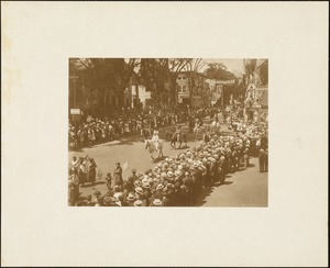 Plymouth  Tercentenary celebration, parade, President Day, August 1, 1921, Indians on horses