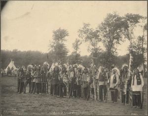 Band of Sioux Warriors