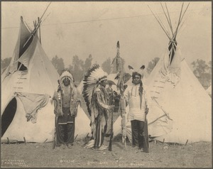 Black Foot, Standing Bear, Big Eagle, Sioux