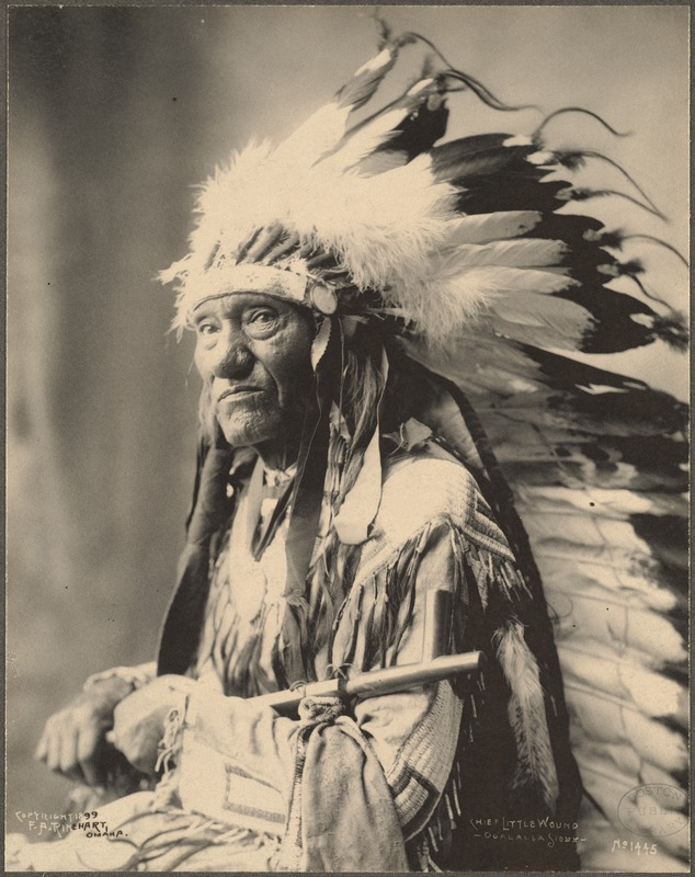Chief Little Wound, Ogalalla Sioux