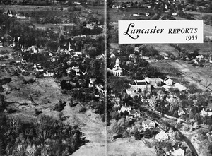 Aerial view of Lancaster Center