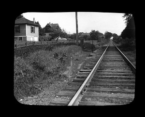 First railway turn at West Squantum Street