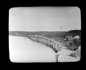 Bunker Hill Wharf and Granite Railway Company on Neponset River