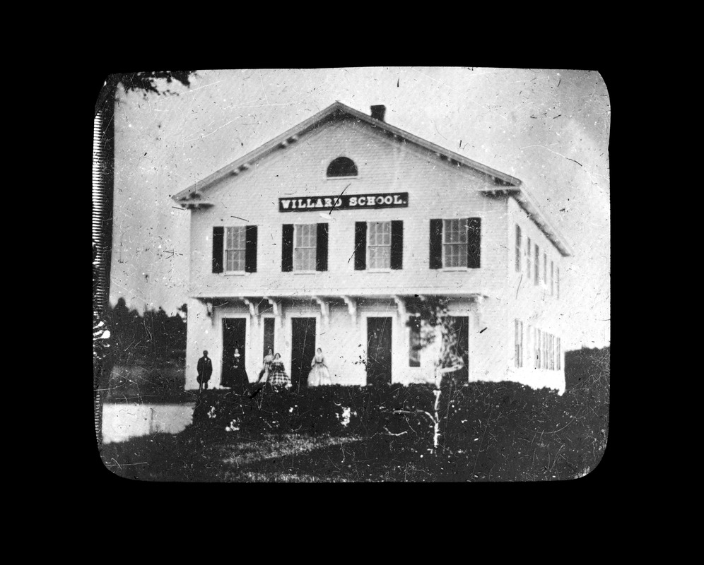 Willard School house 1855