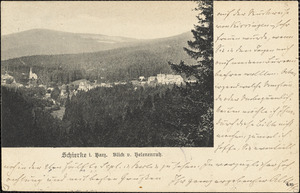 Althoff, Friedrich, 1839-1905. autograph postcard signed to Hugo Münsterberg, Pontresina, 23 August 1905