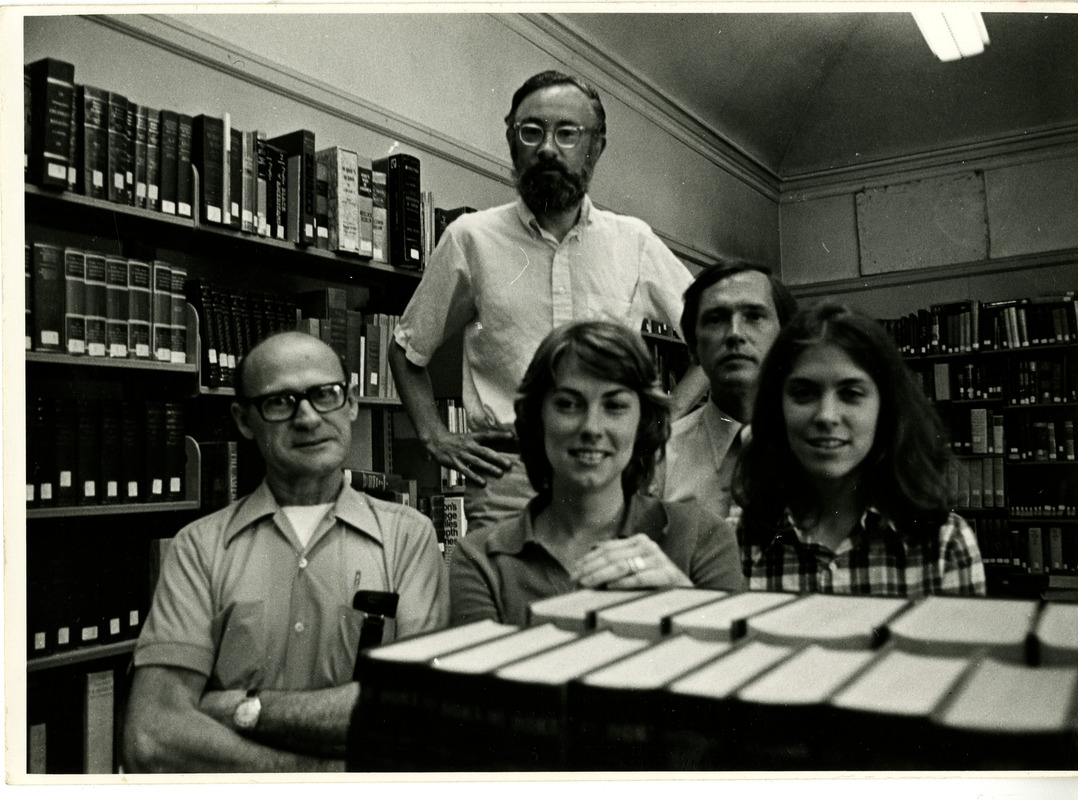 Portrait of library staff