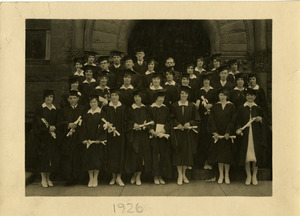 Portrait of graduates