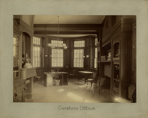 Curator's office, Newbury Street Campus
