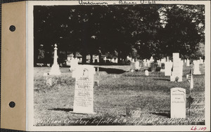 A. C. Woodard, Woodlawn Cemetery, old section, lot 72, Enfield, Mass., Sept. 10, 1928