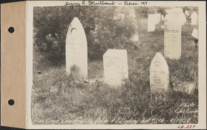 A. J. Lindsey, Pine Grove Cemetery, lot 176, North Dana, Mass., Sept. 27, 1928
