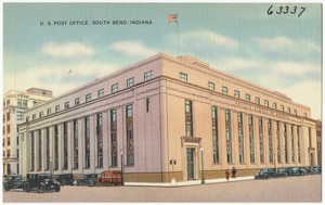 U. S. Post Office, South Bend, Indiana