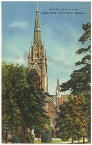 Sacred Heart Church, Notre Dame, South Bend, Indiana