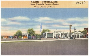 Adams - Pontiac Inc., your friendly Pontiac dealer, Terre Haute, Indiana