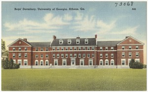 Boy's dormitory, University of Georgia, Athens, Ga.