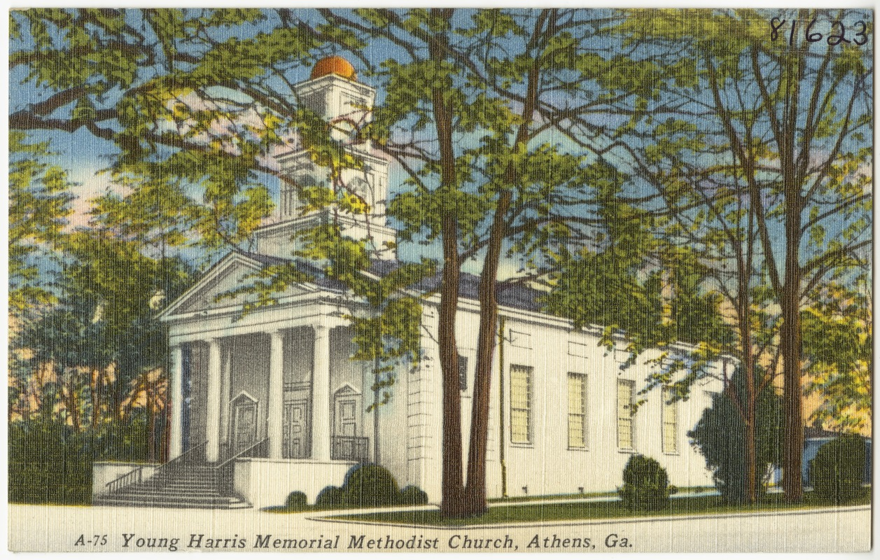 Young Harris Memorial Methodist Church, Athens, Ga.