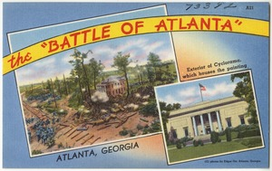 "The ""Battle of Atlanta"", Atlanta, Georgia, Exterior of Cyclorama which houses the painting"