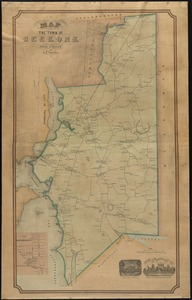 Map of the town of Seekonk