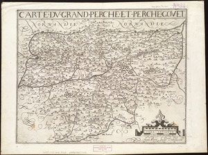 Carte du Grand Perche et Perche Gouet