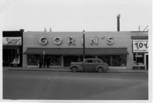 Gorin's Department Store.