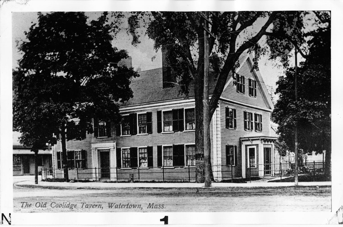 Ma'am Coolidge's Tavern built between 1740 and 1742 by William Williams, shipbuilder.