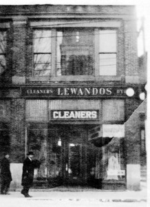 Lewando's French Dyers and Cleaners.