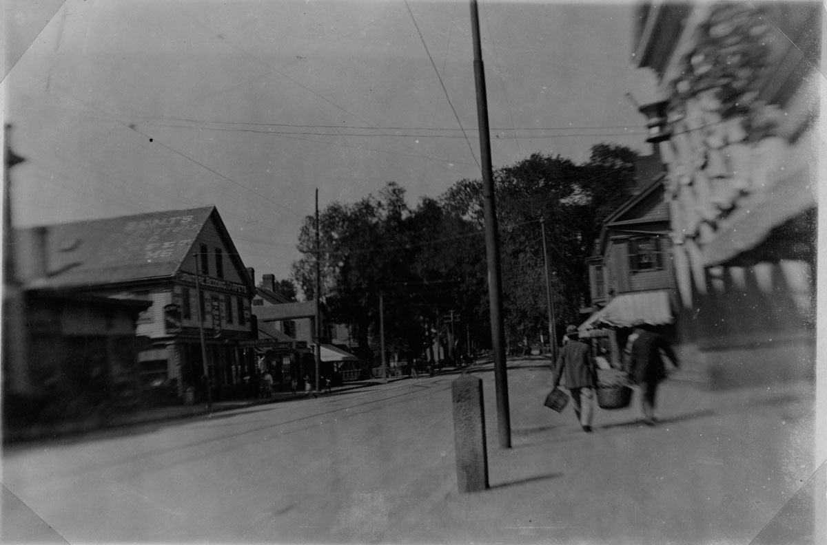 Main Street in the 1890's.