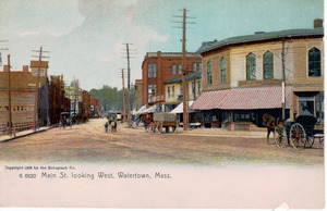 Main Street looking west.