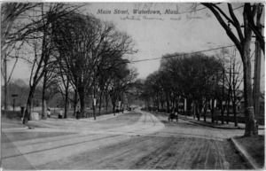 Main Street at White's Ave. and Green Street.