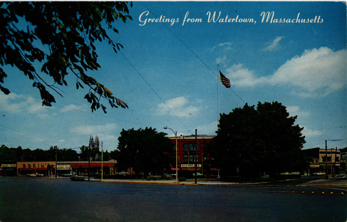 Watertown Square.