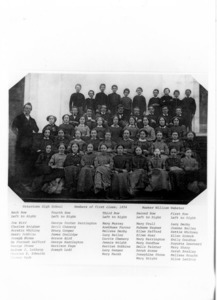 Watertown High School, Class of 1854. Duplicate of figure 603 Line #1084