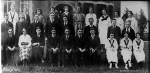Watertown High School class of 1920.