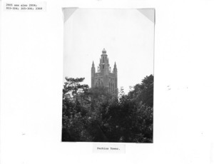Howe Building Tower at Perkins School for the Blind.