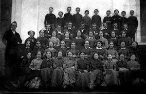 Watertown High School, Class of 1854.