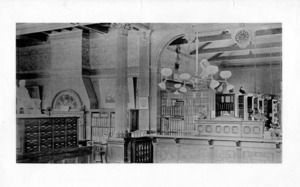 Interior of the Watertown Free Public Library.