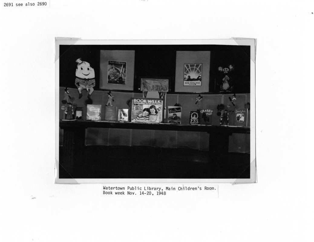 Children's Department, Book Week, November 14-20, 1948.