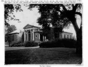 Main Library (before 1956 addition).