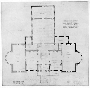 Architect drawings for alterations and additions.