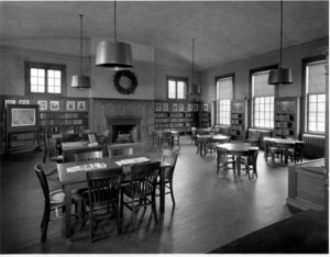 East Branch Library, interior view