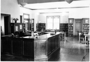 North Branch Library, interior view.